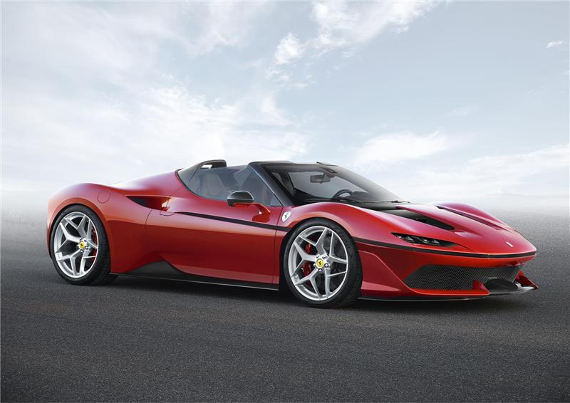 Ferrari J50 pictures and wallpaper