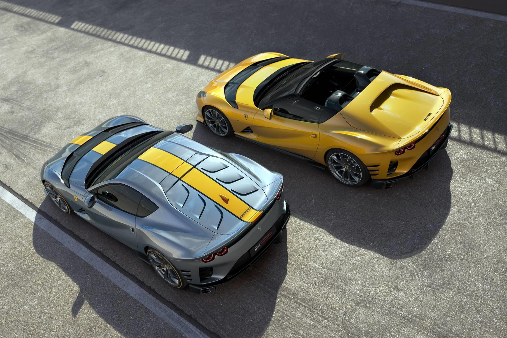 2021 Ferrari 812 Competizione