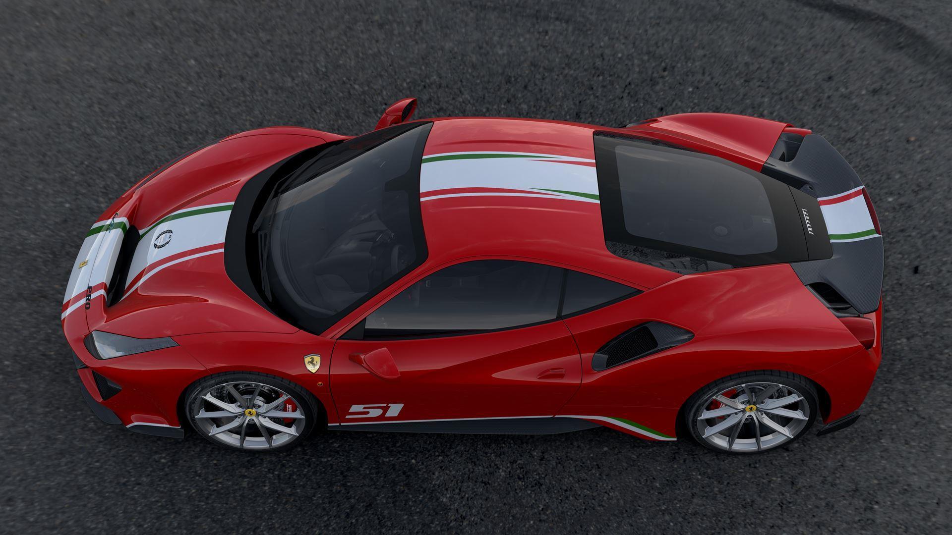 2018 Ferrari 488 Pista Piloti Specification News And Information