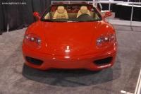 2005 Ferrari 360 Spider image.