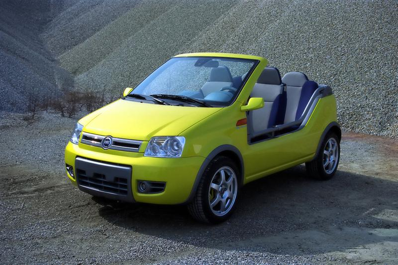 2003 Fiat Marrakech Concept Image Photo 3 Of 5