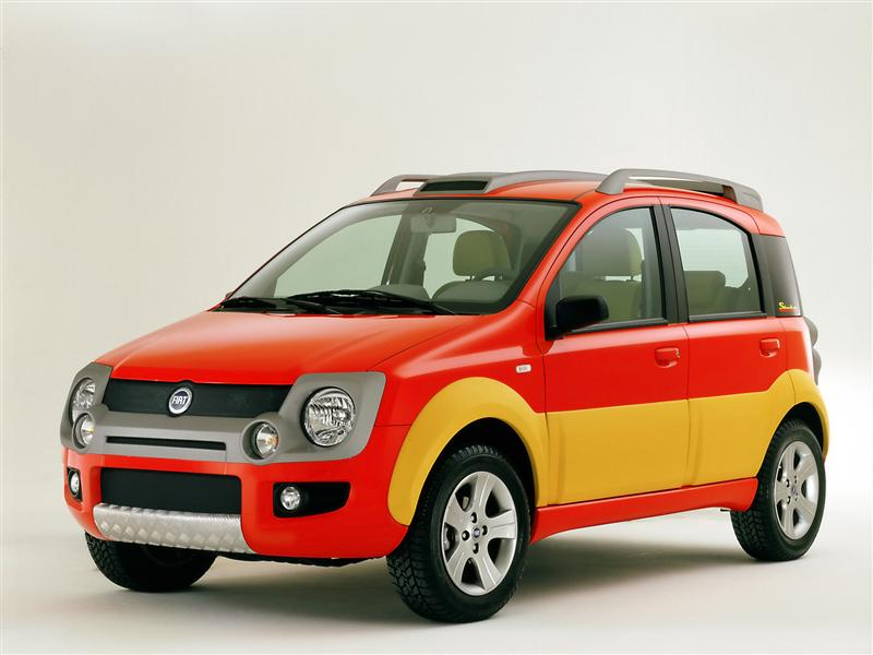 2003 Fiat Simba Concept History Pictures Value Auction Sales