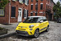 Fiat 500L Monthly Sales