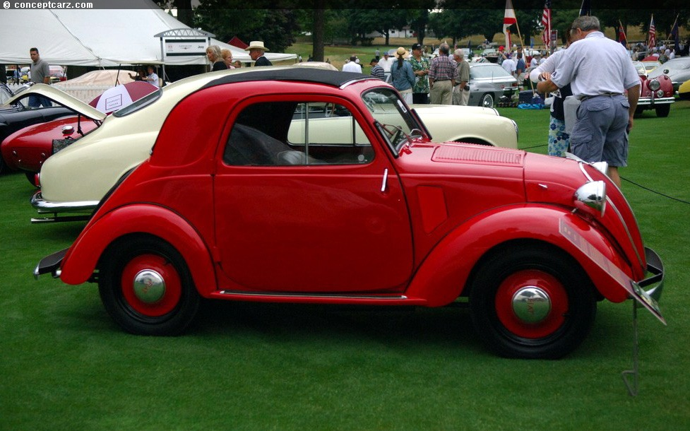 Auction Results And Data For 1948 Fiat 500 Topolino H Amp H