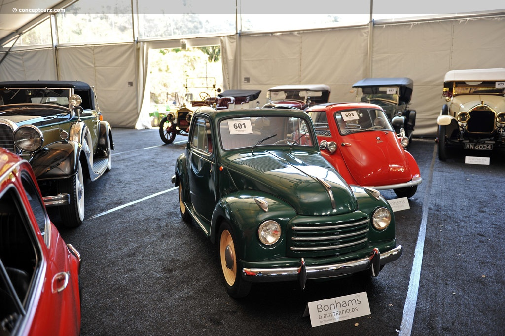 Auction Results and Sales Data for 1951 Fiat 500