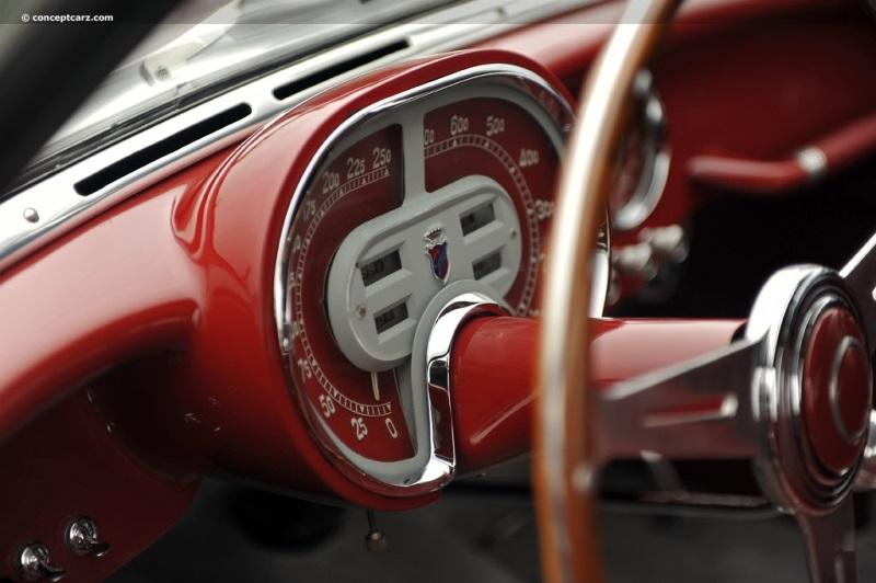 1953 Fiat 8v Chassis Information
