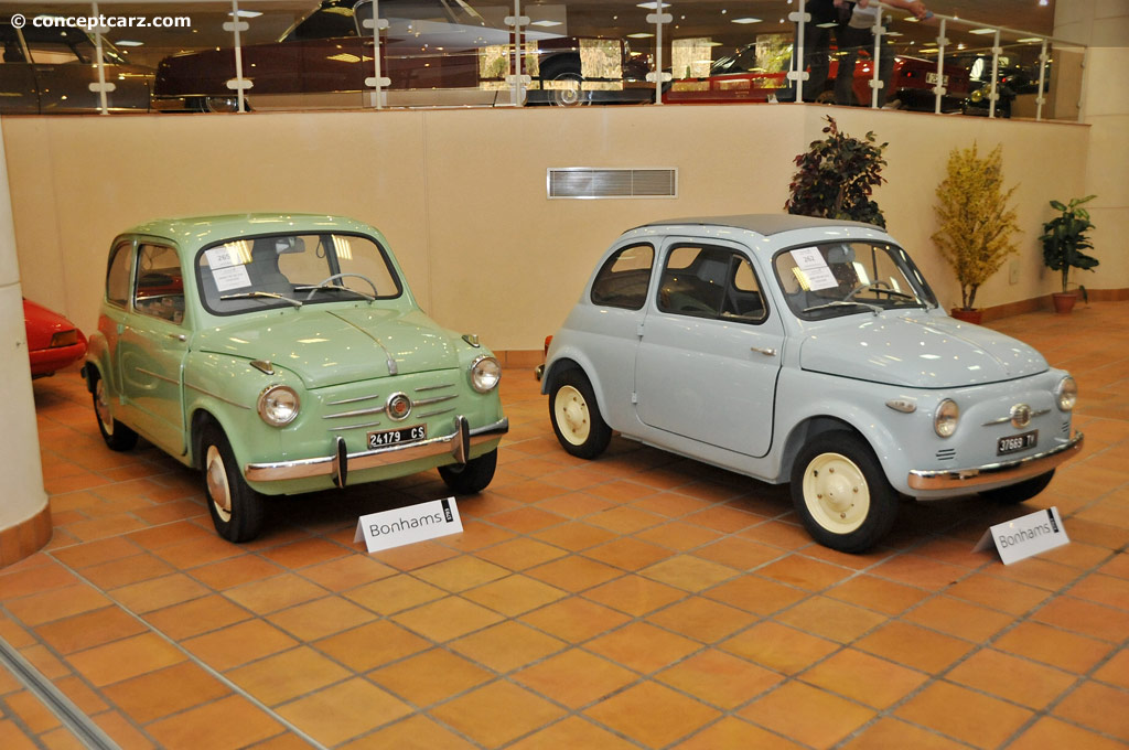 1957 Fiat 500 Image Chassis Number 003820