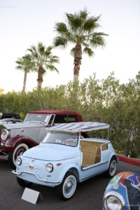 1958 Fiat Jolly 500.  Chassis number 032738