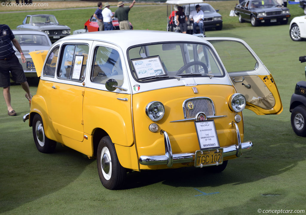1958 Fiat 600 Multipla History Pictures Value Auction