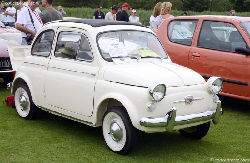 1958 Fiat 500 Conceptcarz Com