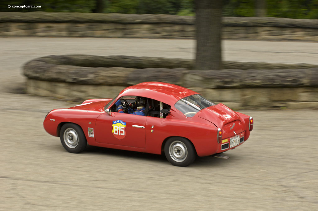 1959 Abarth 750 Gt Zagato Image Chassis Number 563254