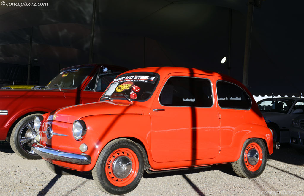 Auction Results and Sales Data for 1959 Fiat 600