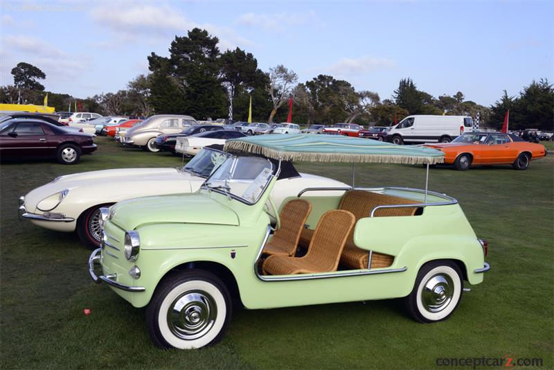 Fiat Jolly 600 pictures and wallpaper