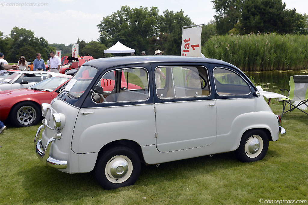1959 Fiat 600 Multipla Pictures History Value Research