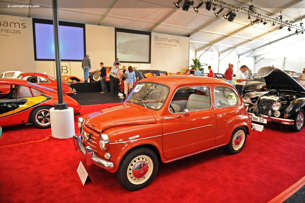 1959 Fiat 600 History, Pictures, Sales Value, Research and News