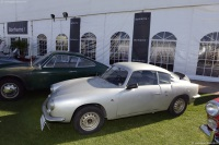 1960 Fiat Abarth 750 GT Zagato.  Chassis number 757464
