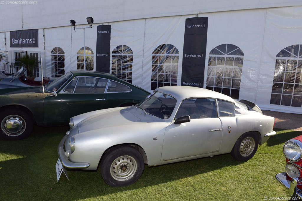1960 Abarth 750 Gt Zagato Image Chassis Number 757464
