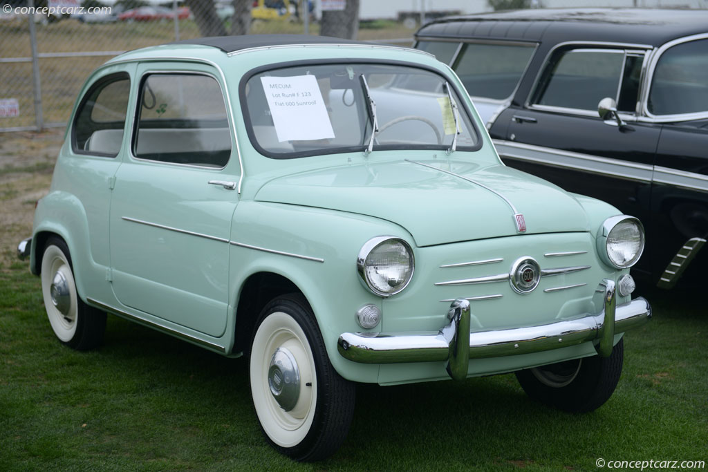 Auction Results and Sales Data for 1960 Fiat 600
