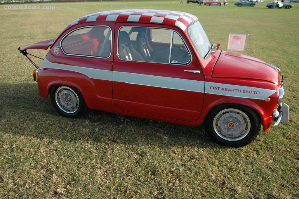 Voorkeur 1962 Abarth 850 TC History, Pictures, Sales Value, Research and News ID41
