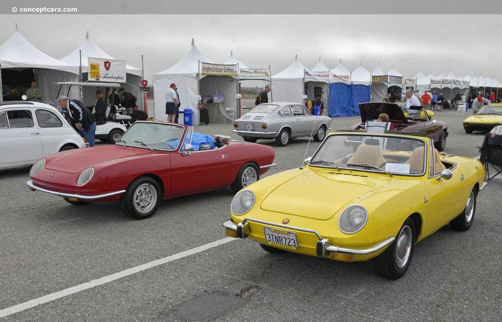 Auction Results and Sales Data for 1972 Fiat 850 Spider
