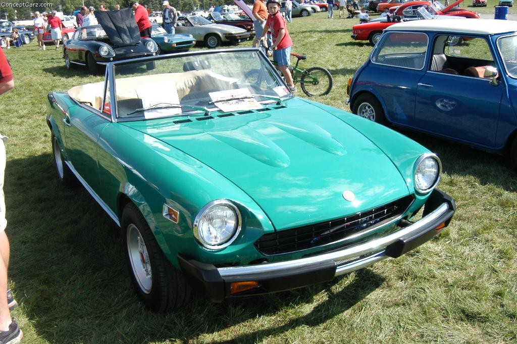 1978 Fiat 124 Technical and Mechanical Specifications