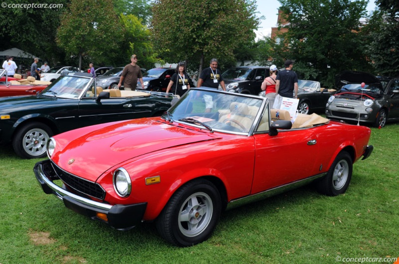 1979 fiat 124 spider 2000 image. photo 1 of 30