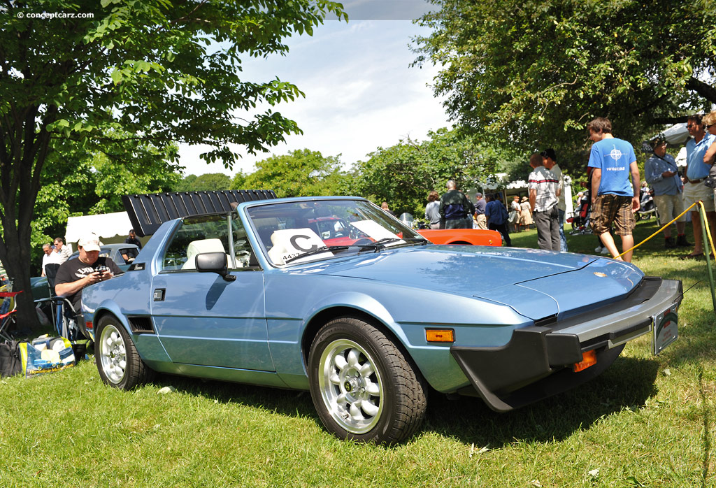 Classic Muscle Cars For Sale >> 1979 Fiat X1/9 History, Pictures, Value, Auction Sales ...