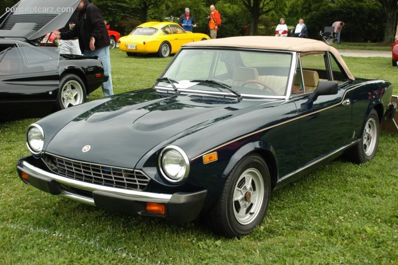 1979 Fiat 124 Spider 2000 Image. Photo 29 of 30