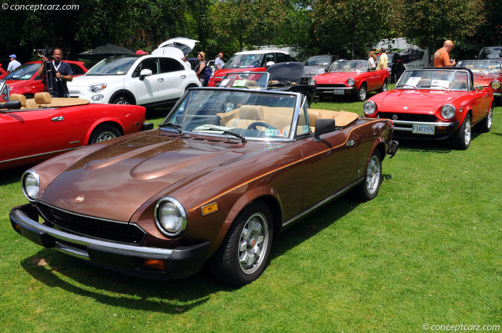 1981 Fiat 124 Spider 2000 History, Pictures, Sales Value, Research