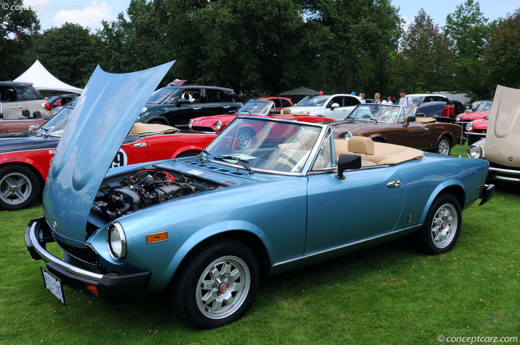 Auction Results and Sales Data for 1982 Fiat Spider 2000