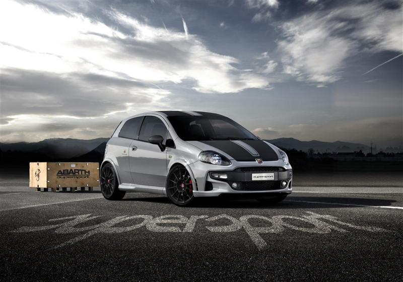 2012 Abarth 500 Punto SuperSport pictures and wallpaper