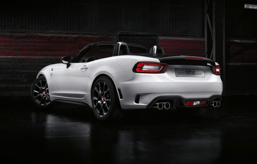 2017 abarth 124 spider image. Black Bedroom Furniture Sets. Home Design Ideas