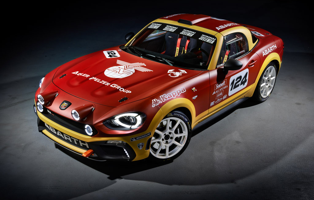 2017 Abarth 124 Spider Rally