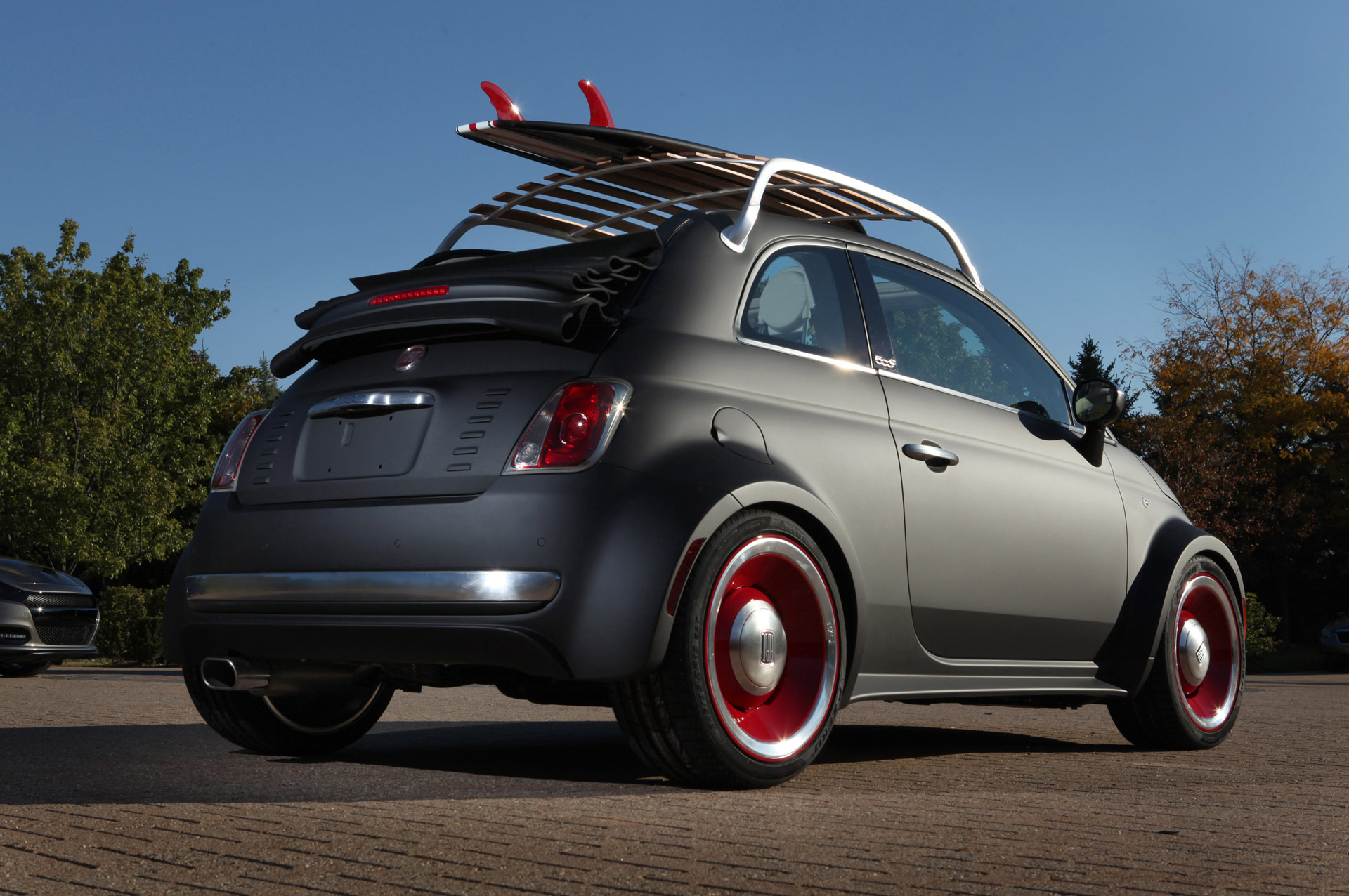 Retro Beach Wallpaper 500 489: 2012 Fiat 500 Beach Cruiser News And Information