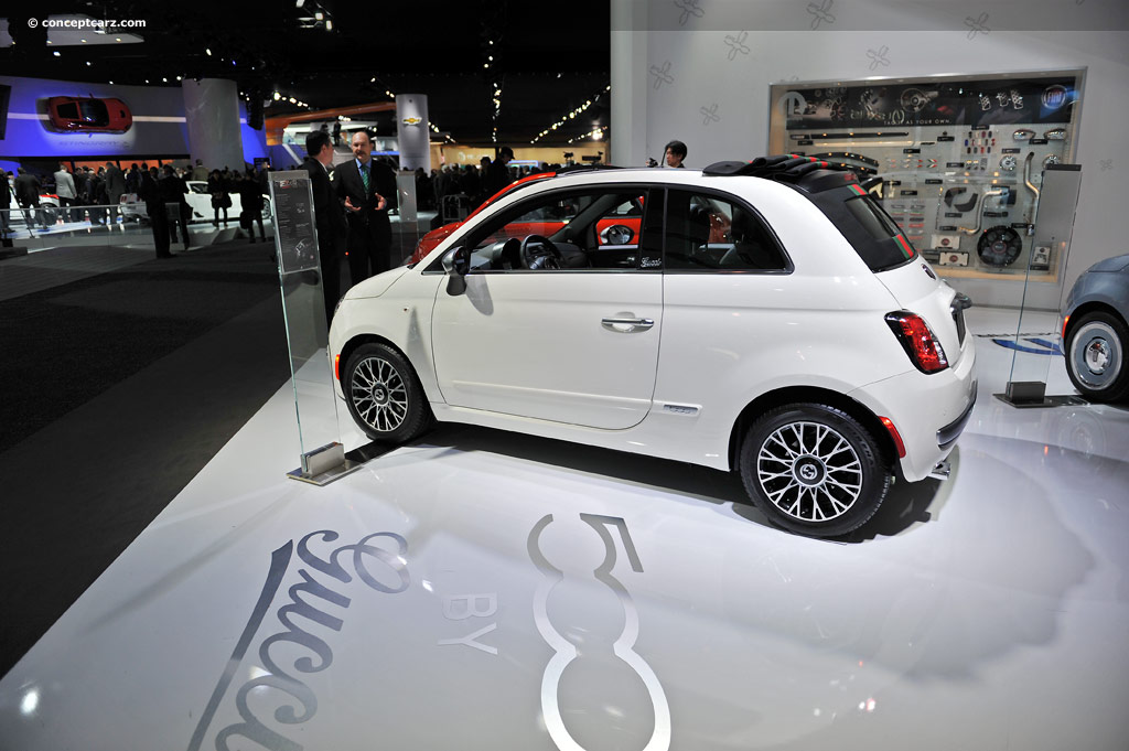 2011 Fiat 500 by Gucci
