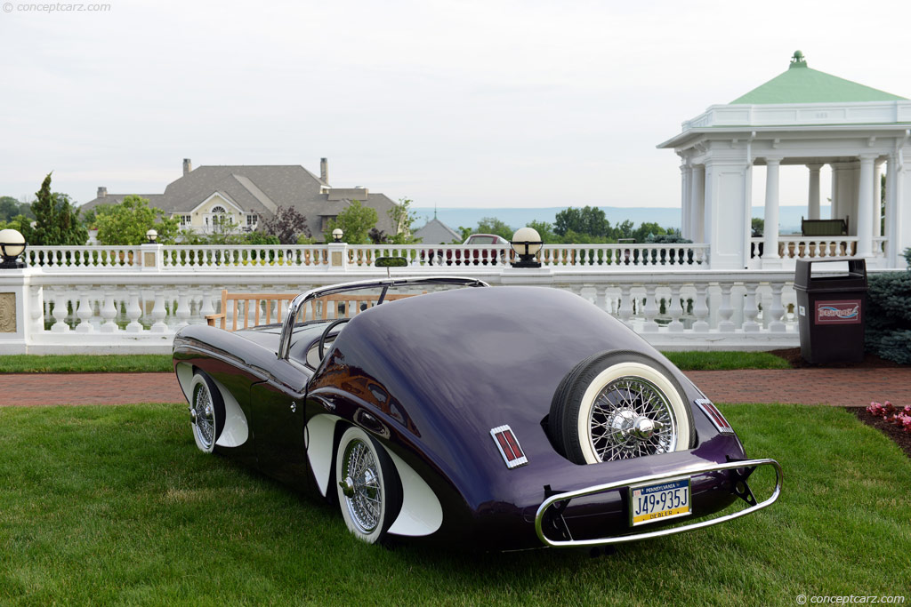 1955 Flajole Forerunner Prototype Image Chassis Number