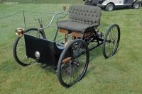 1896 Ford Quadricycle image.