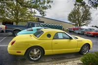 2002 Ford Thunderbird.  Chassis number 1FAHP60A52Y113155