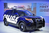 2011 Ford Police Interceptor Utility Vehicle image.
