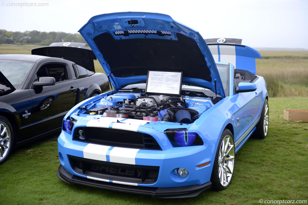 Auction Results and Sales Data for 2014 Shelby Mustang GT500