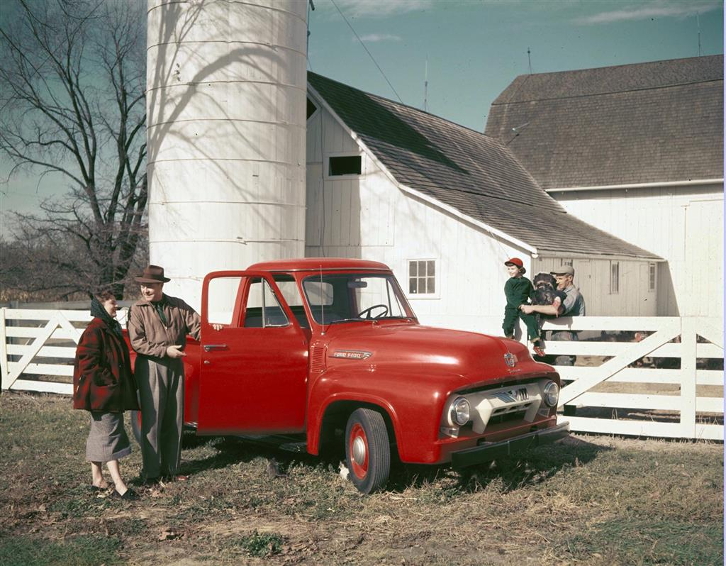 Auction Results And Sales Data For 1954 Ford F100 1955 Short Bed