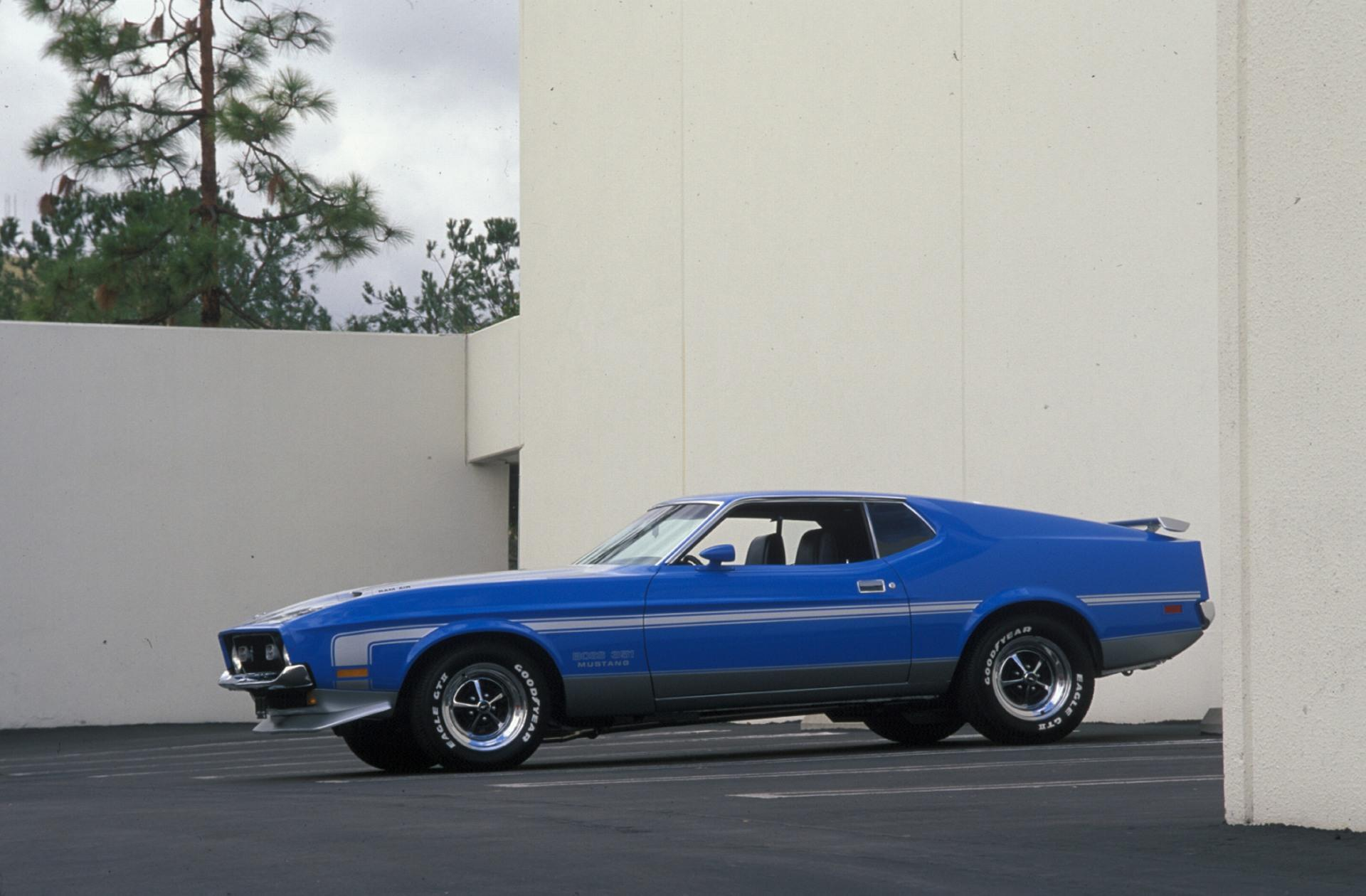 1971 Ford Mustang Conceptcarz Com