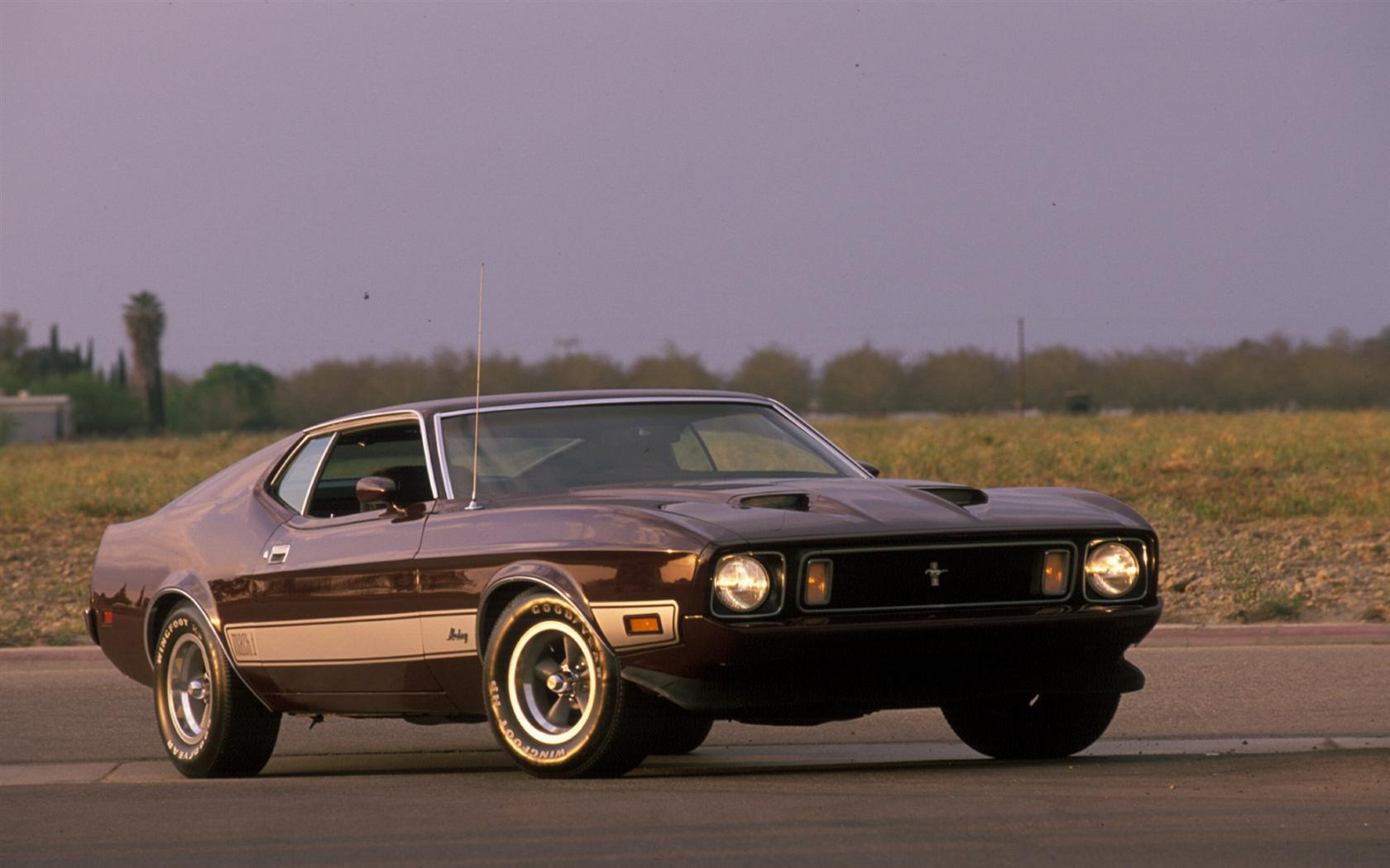 1973 Ford Mustang Mach 1 History Pictures Value Auction Sales