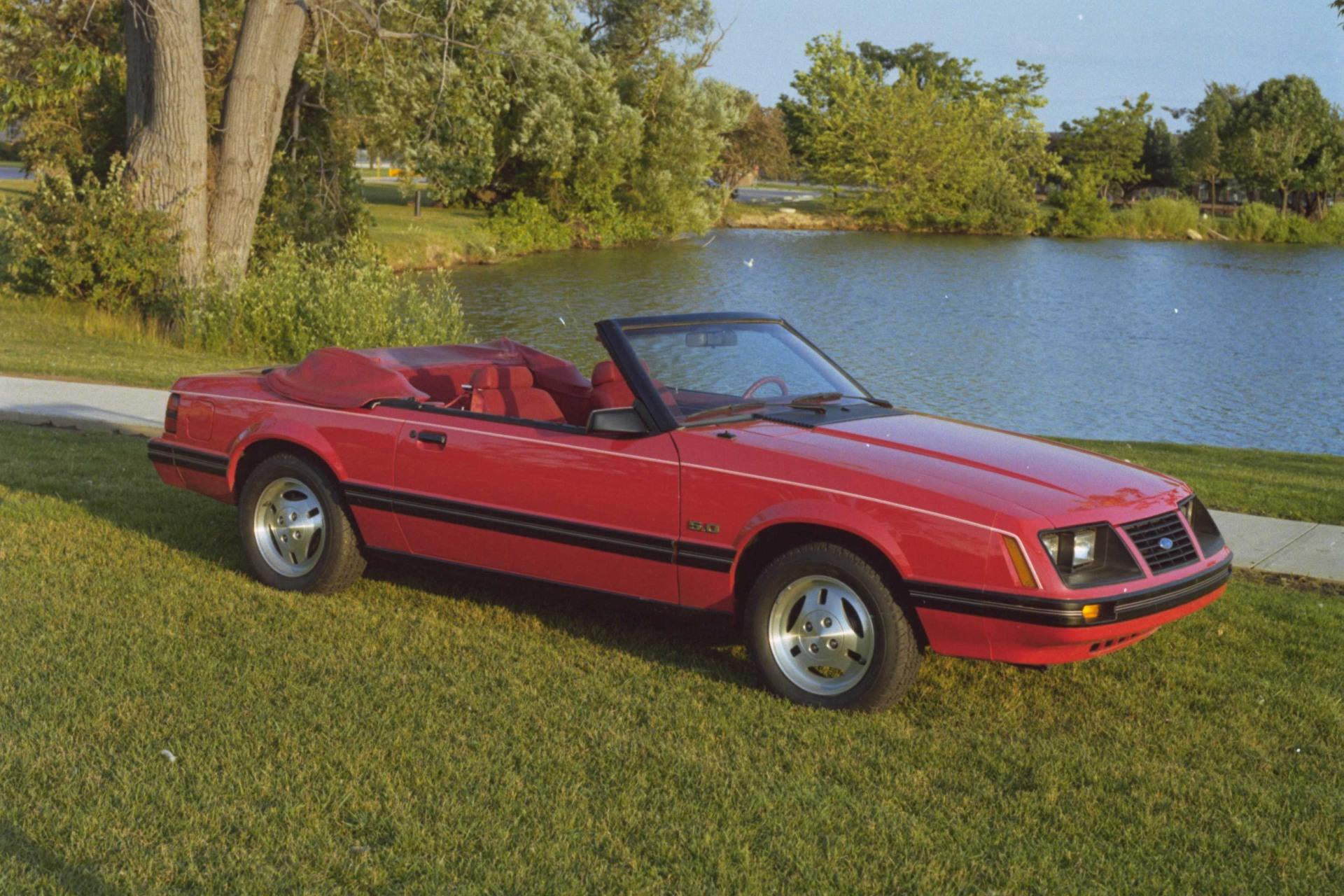1983 Ford Mustang History Pictures Value Auction Sales Research 1970 Gt Convertible And News