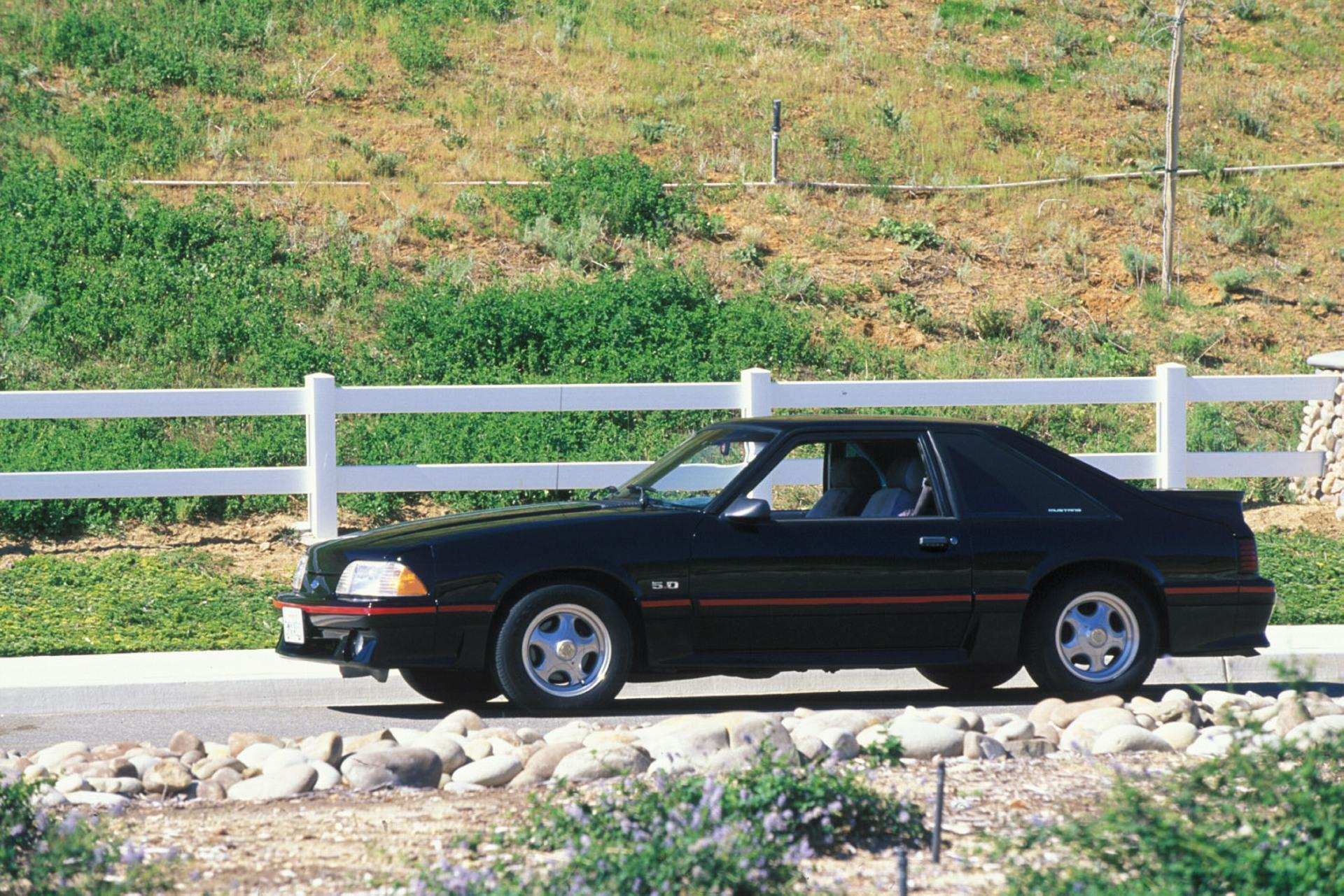 1987 ford mustang history pictures value auction sales research and news