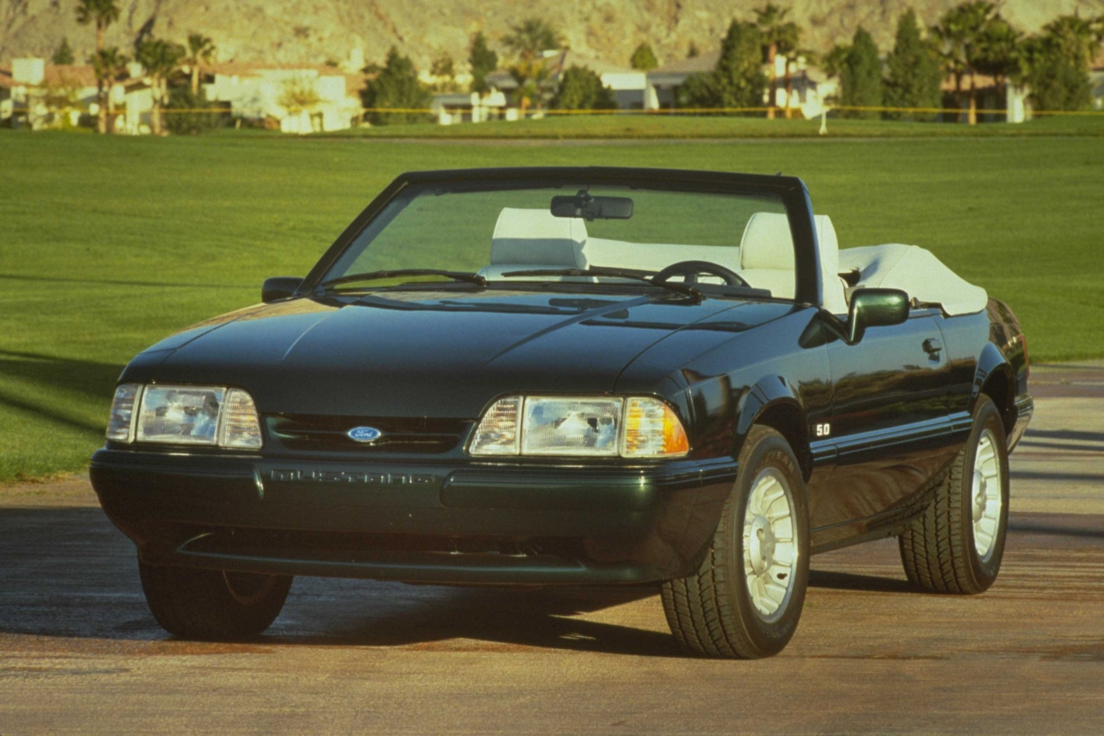 1990 ford mustang history pictures value auction sales research and news