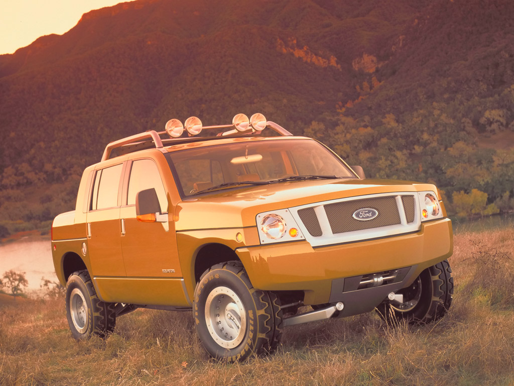 2000 Ford Equator Concept Pictures History Value