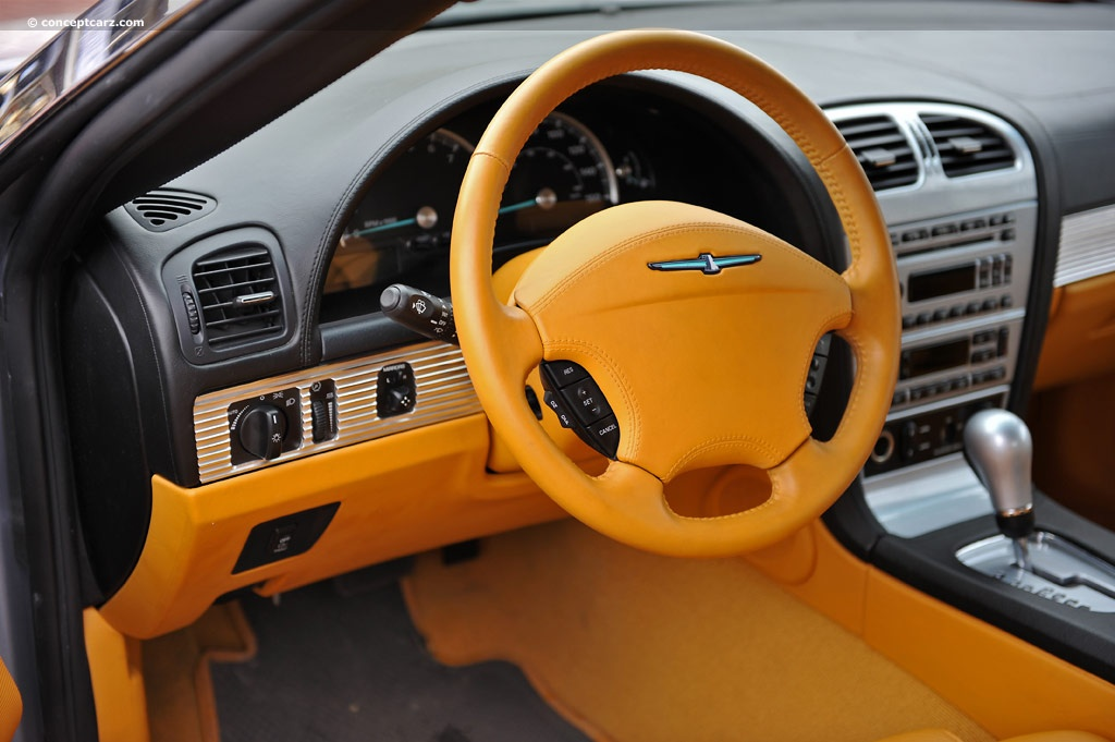 Note The Images Shown Are Representations Of 2003 Ford Thunderbird Supercharged Concept