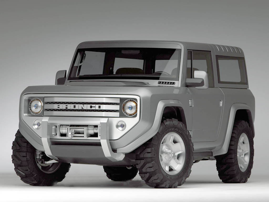 2004 Ford Bronco Concept History Pictures Sales Value