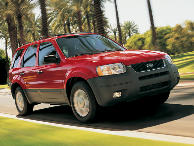 2004 Ford Escape History, Pictures, Sales Value, Research and News